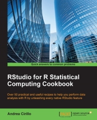 RStudio for R Statistical Computing Cookbook